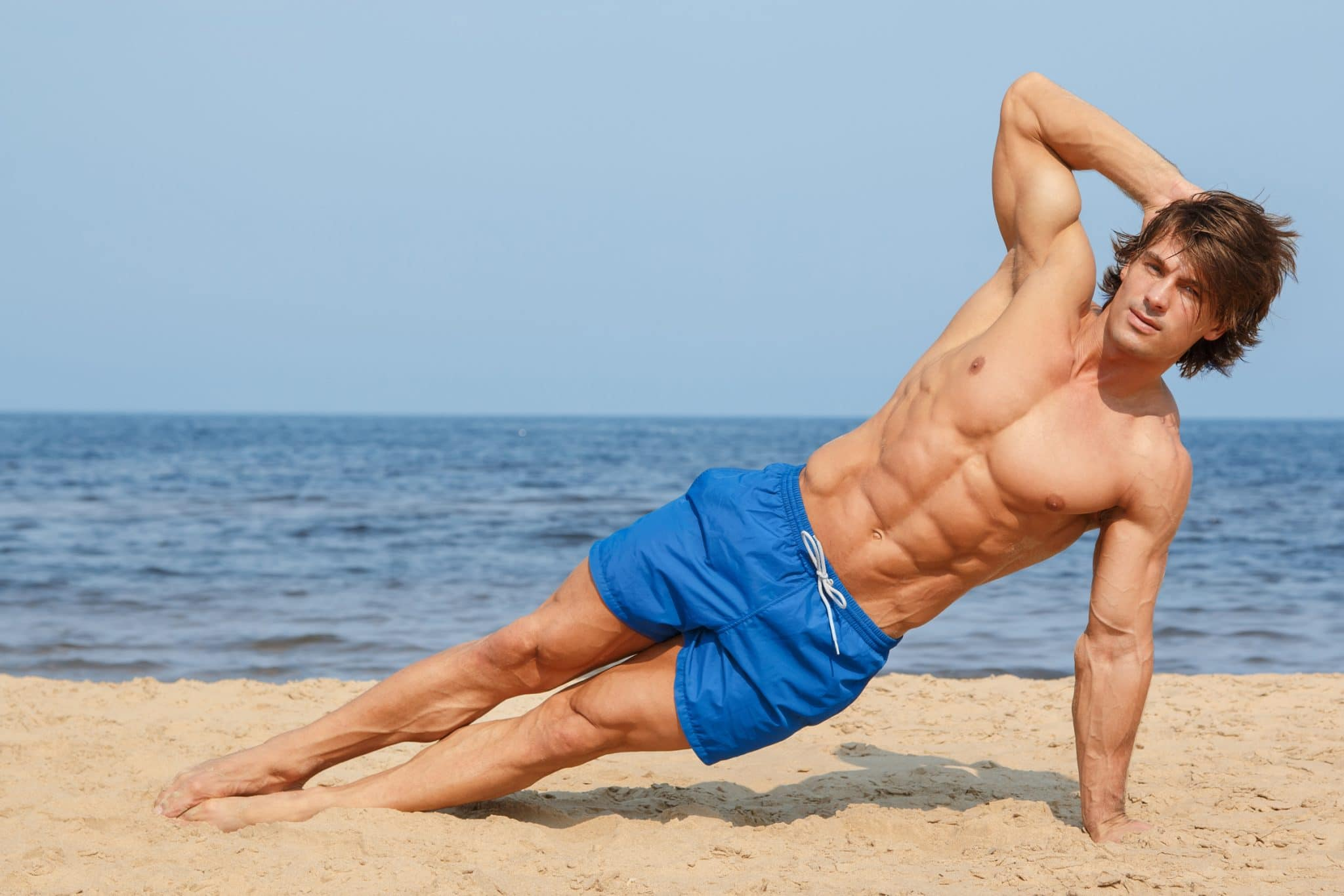 Mens Fitness Magazine Mh Summer Sixpack Challenge The Dumbbell Circuit 5 Ways To Tone Abs