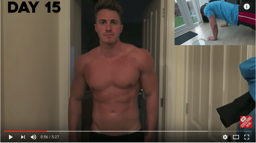 300 PUSH UPS A DAY FOR 30 DAYS CHALLENGE