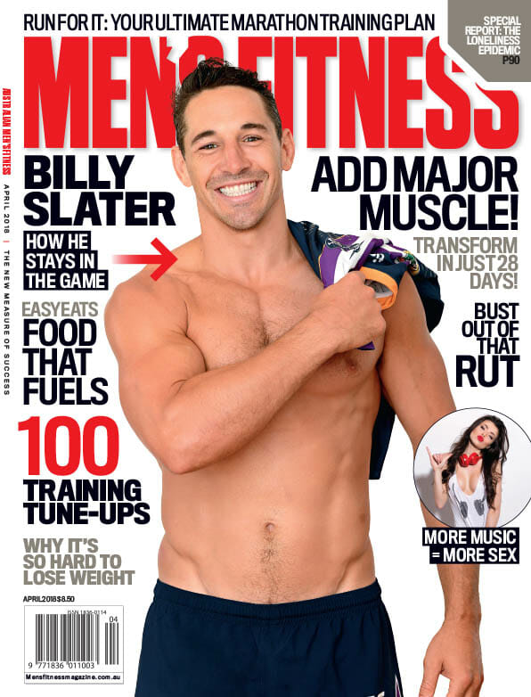 Inside the April 2018 Issue of Men's Fitness
